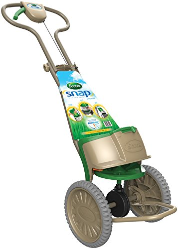 Scotts Snap System Seed and Fertilizer Spreader