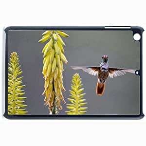 Customized Back Cover Case For iPad Mini 2 Hardshell Case, Black Back Cover Design Bird Personalized Unique Case For iPad Mini 2
