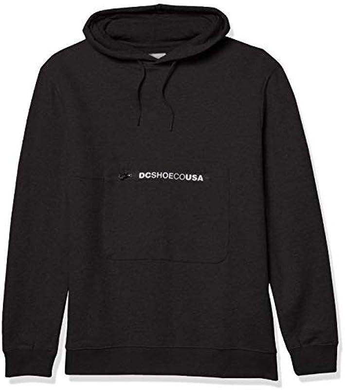 DC Shoes Męskie Covert Fleece Pullover Sweatshirt: Odzież