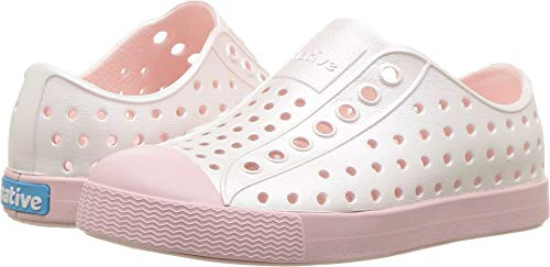 d867b34adf88a Native Kids Shoes Baby Girl s Jefferson Metallic (Toddler Little Kid) Pink  Metallic