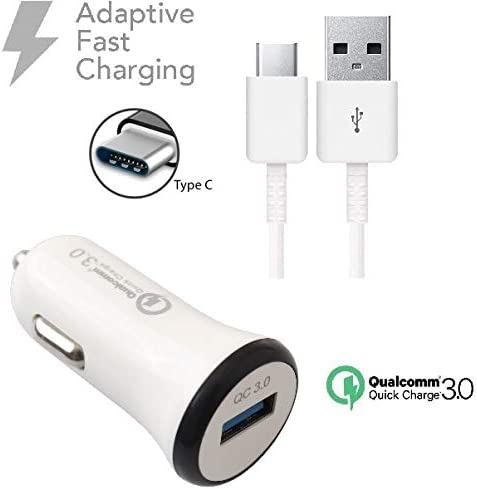 USB to Type-C Charging Data Cable. Black // 4Ft Rapid Blade V8 Pro Review Car Charger