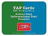TAP Cards - Informational Text Card Set
