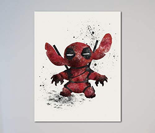 Stitch Deadpool Lilo and Stitch 11