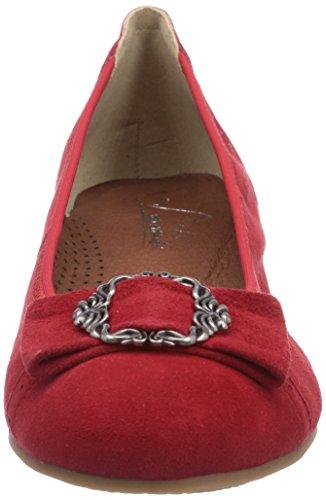 Rot by à Femme Avant Hirschkogel Talons Rouge Andrea Pieds Rot 3009220021 Chaussures Couvert Conti 021 du RXHXO