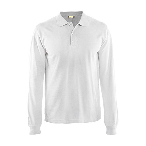 Blaklader 338810501000S Long Sleeves Polo Shirt, Size S, ...