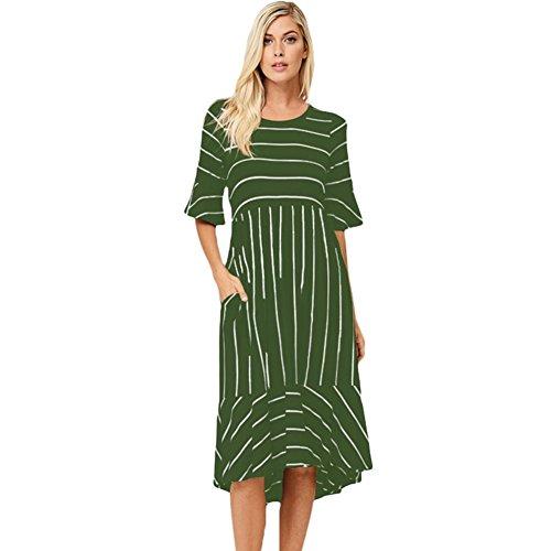 Palla abiti Vintage Prom lunghi Green abito elegante amp;S MEI Donna wn0Ex6qPtX