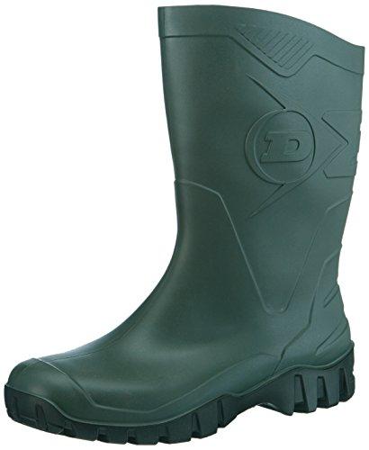 Dunlop K580011 PVC KUITLAARS GROEN 45, Unisex-Erwachsene Halbschaft Gummistiefel, Grün (grün (groen) 08), 45 EU