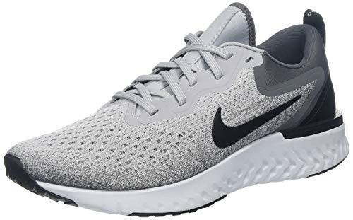 - Nike Men's Odyssey React Running Shoe, Wolf Grey/Black-Dark Grey-Pure Platinum, 9