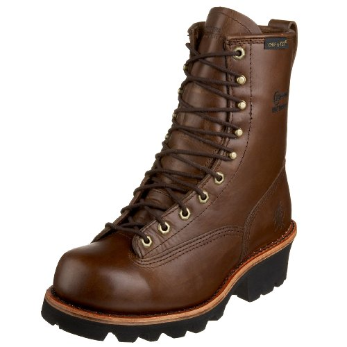Chippewa Men's 73100 Lace-To-Toe Logger Boot,Bay Apache,9.5 M US -