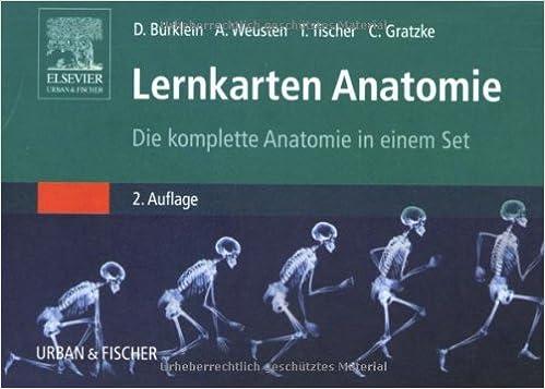 Lernkarten Anatomie: Die komplette Anatomie in einem Set: Amazon.de ...