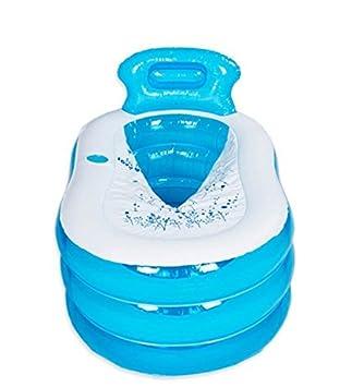Práctico Portable de los niños adultos bañera hinchable ...