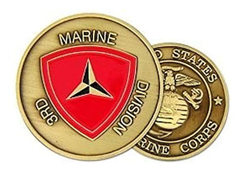 3rd Marine Division Challenge Coin - Marine Division Challenge Coin