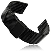Stainless Steel Watch Band Milanese Loop Watch Strap Quick Release Pins for watches Samsung Gear S3 22mm