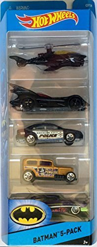 Hot Wheels, 2015 HW City, Batman 5-Pack