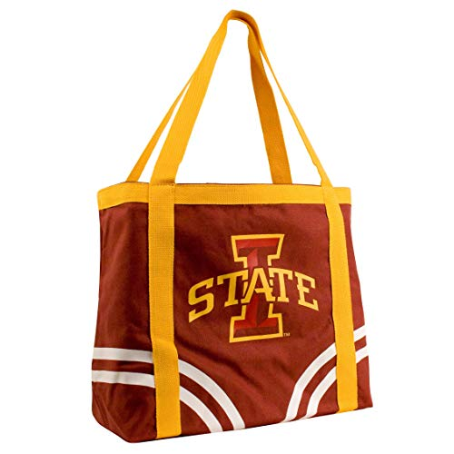 - NCAA Iowa State Cyclones Canvas Tailgate Tote