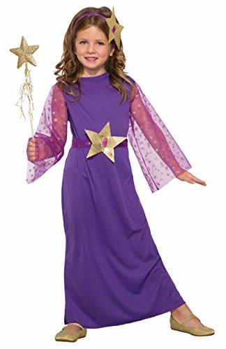 Forum Novelties 79108 Enchanting Witch Child's Costume, Medium, Purple ()