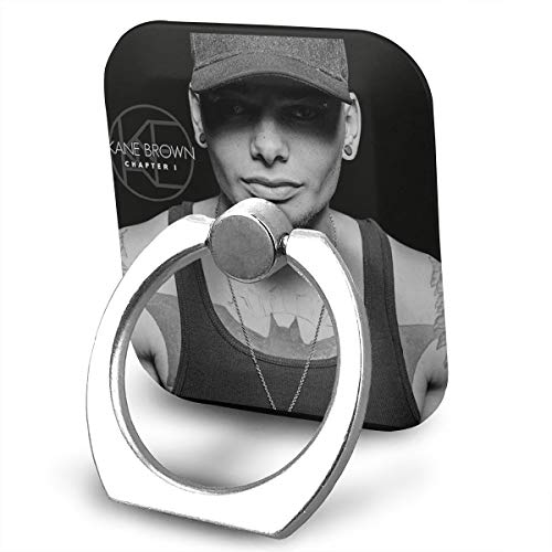 (EdithL Kane Brown Chapter 1 Cellstand Cell Phone Finger Ring Stand, Car Mount 360 Degree Rotation Universal Phone Ring Holder Kickstand for iPhone/iPad/Samsung)