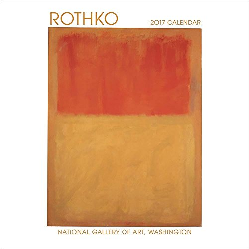 Rothko 2017 Small Wall Calendar