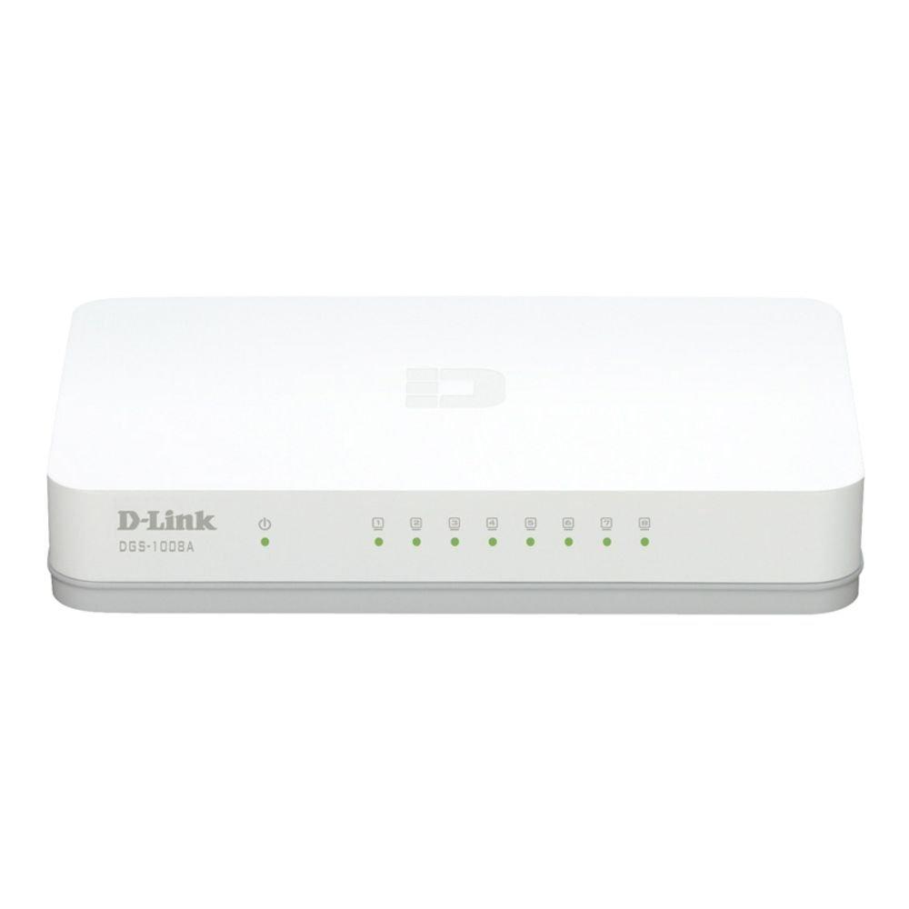 D-Link 8 Port Gigabit Ethernet Switch