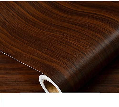 LoveHomeCandy 壁紙シール 木目調カッティングシート 壁紙の上から貼れる壁紙 木目リメイクシート おしゃれ DIY 張り替え 防水 キッチン トイレ (60X100CM,10)