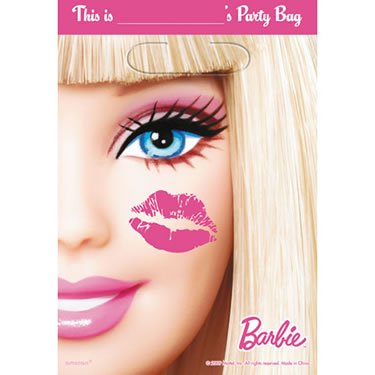 Barbie All Doll'd Up Party Loot Bags (8)]()