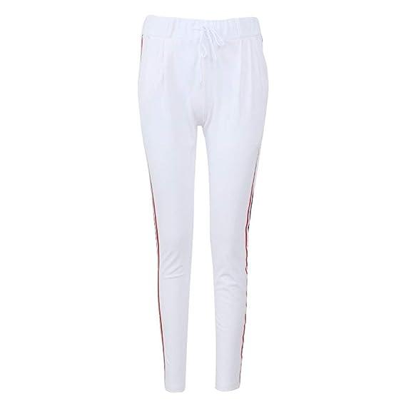 Targogo Pantalones Chándal Mujer Pantalones Elástico Pantalones ...