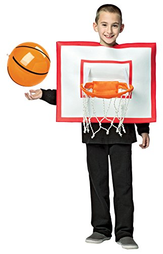 Rasta Imposta Boy's Basketball Hoop Outfit Funny Theme Child Halloween Costume, Child M