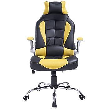 Amazon Com Homcom Racing Style Executive Gaming Office