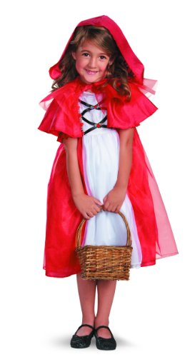 Secret Fairytale Storybook Red Riding Hood Girls Costume, 7-8