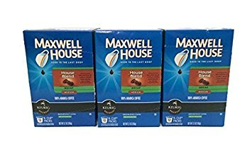 Maxwell House Cafe Collection Decaf House Blend K-Cups, 12-Count (Pack of ()
