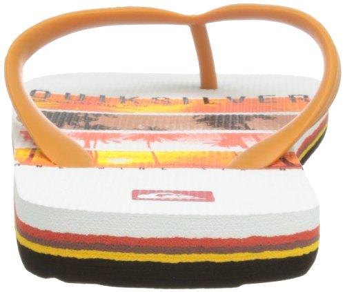 Herren XWRK EQYL100031 Dusch White XWRK Red Black M Quiksilver MOLOKAI SCREEN SNDL amp; Mehrfarbig Badeschuhe 0Sp4Sq