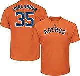 OuterStuff Justin Verlander Houston Astros #35 MLB Youth Player T-shirt Orange