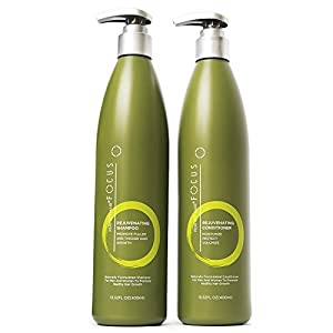 13. Perfect Hair - Natural Shampoo and Conditioner - Infused with Biotin, Jojoba, Coconut and Argan Oil, 13.5 fl. oz