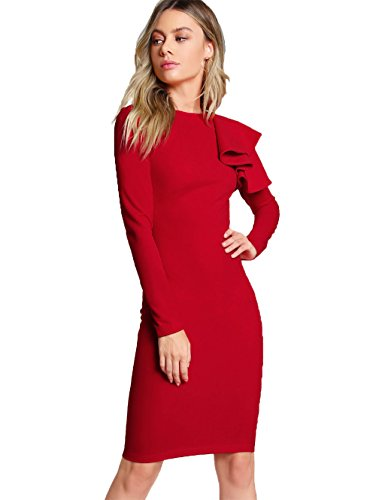Red Tiered Dress - 2