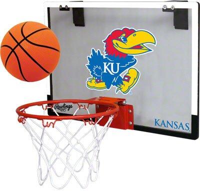 NCAA Kansas Jayhawks Game On Hoop Set by Rawlings