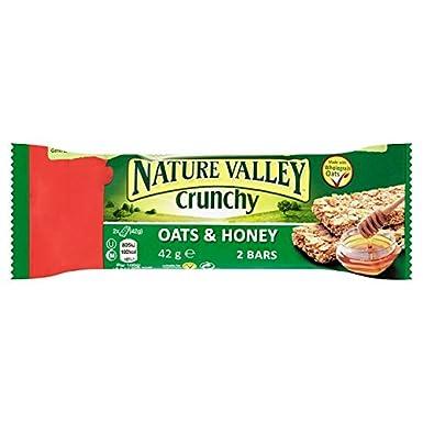 Nature Valley crujiente Avena y Miel 42g 2 barras (paquete de 18 x 42 g
