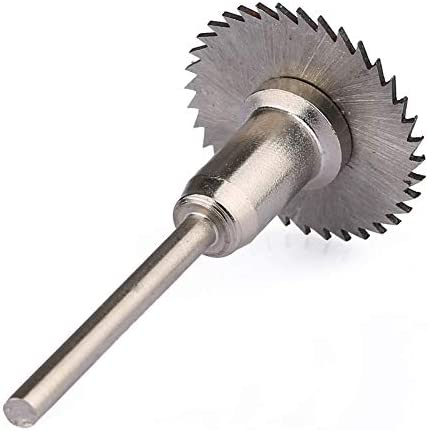 Grinder Blades 25mm HSS Circular Saw Blade Jig Saw Wood Cutting Blade Rotary Tool for Metal Cutting Tools with 3.175mm Drill Bit