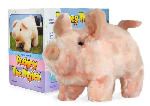 (Moving Animal Joy Pudgey Piglet The Walking, Oinking, Baby Pig)