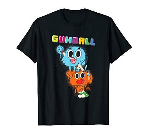 The Amazing World of Gumball Gumball Spray T-Shirt