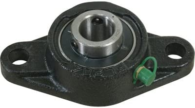 1in. NorTrac Pillow Block 2-Bolt Round Mount