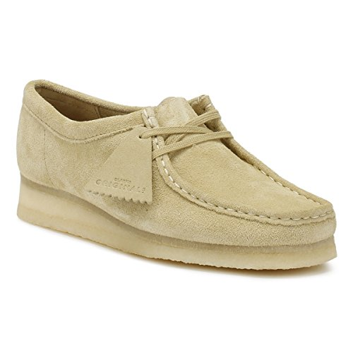 Originals Clarks uk Donna Maple Wallabee 5 Scarpe Scamosciato dwZ4wqS