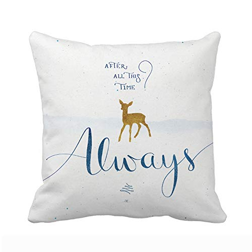 UOOPOO Throw Pillow Cover Cushion Case Always Square Design