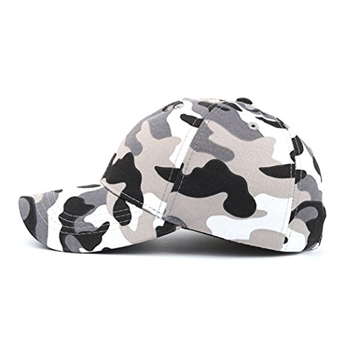 Napoo Women Men Casual Camouflage Baseball Outdoor Cap Sports Hat ()