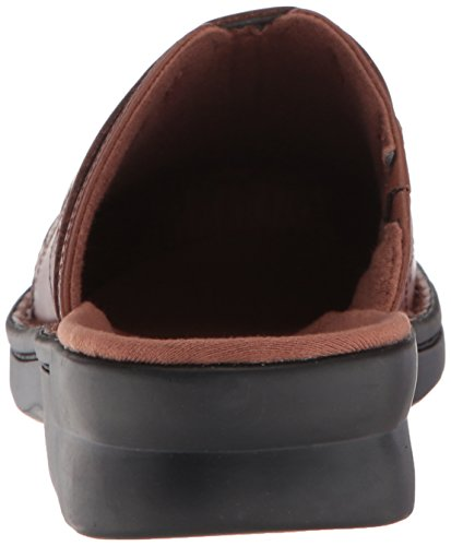 Dark Renata Clarks Leather M Us Women's Tan Clog Patty 080 PqHHIxZwE