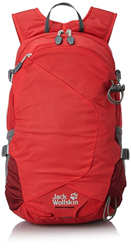 Jack Wolfskin Rockdale 20 2015 Hiking Backpack One Size Red Fire by Jack Wolfskin