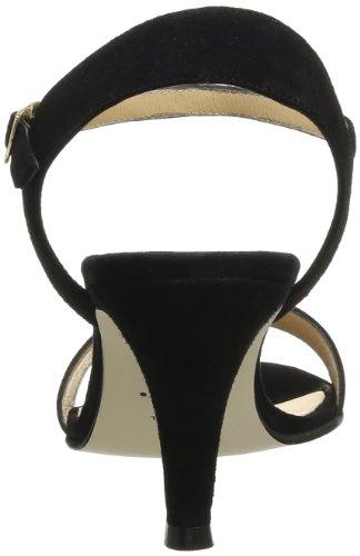 Jonak 11356 088-11356/ve/e4 - Zapatos de tacón de terciopelo para mujer, color negro, talla Negro (Noir)
