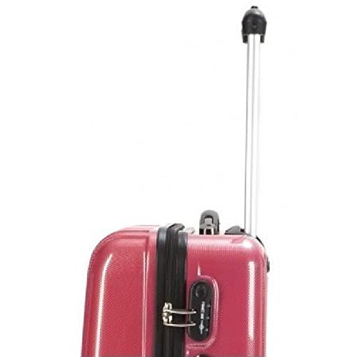 Rigido Trolley France Bag 3 Rosso 141526 Set Rwwavx8I