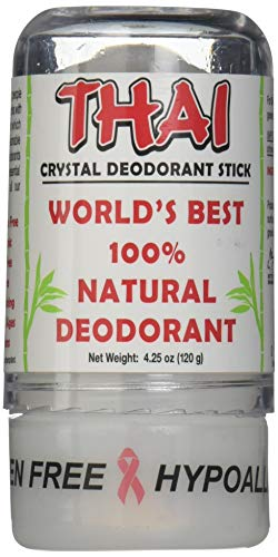 (Deodorant Stones of America: Thai Crystal Deodorant, 4.25 oz (Pack of 4))