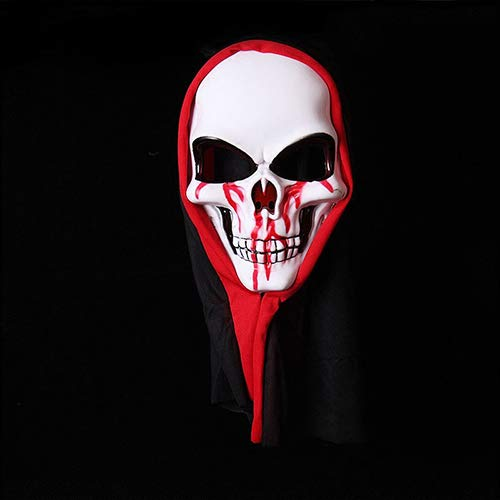 TANGGOOO 2019 New Halloween Mask Horror Creepy Mask Long Hair Horror Demon Ghost Masquerade Party Scare Mask Halloween Tidy Party Props U Must Have Friendship Gifts Girls Favourite Characters