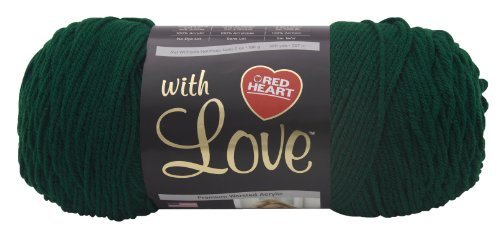 red-heart-with-love-yarn-evergreen